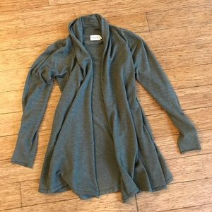Soft, long, green Dreamers cardigan S